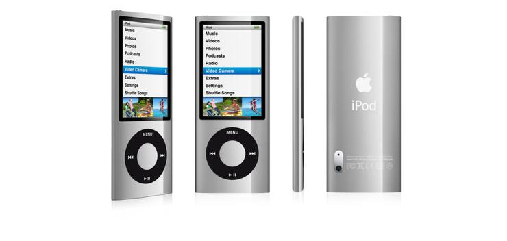 The new iPod sports a video camera