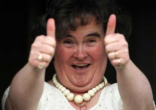 Susan Boyle: most watched YouTube video of 2009