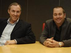 Ingram Micro's Greg Spierkel (left) and Jay Miley