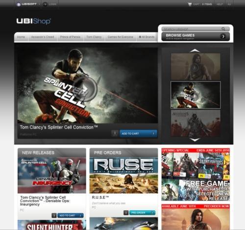 UBIShop screenshot.