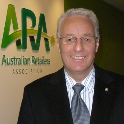 Australian Retailer's Association executive director, Russell Zimmerman