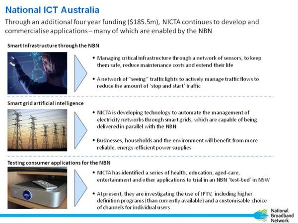 Slideshow presentation by Commmunication Minister, Stephen Conroy, at the Australian Information Industry Association speech.