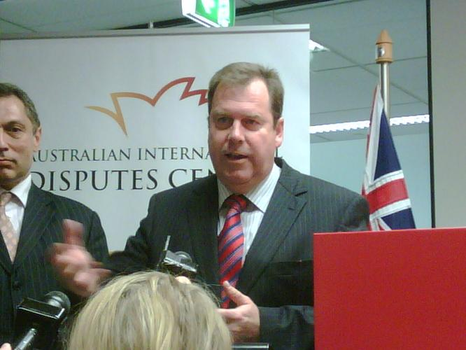 Attorney-General, Robert McClelland, in Sydney.