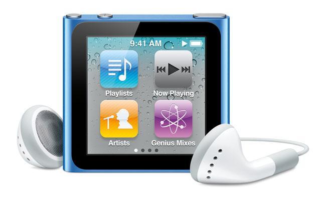 The iPod Nano