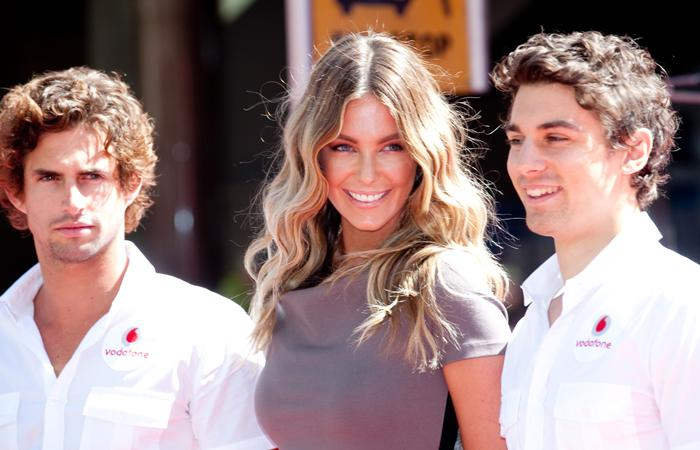 Former Miss Universe, Jennifer Hawkins, at the launch