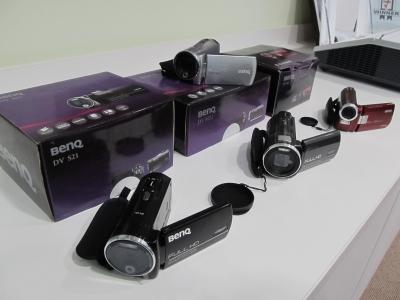 BenQ has launched its first self-branded line of camcorders in Australia.