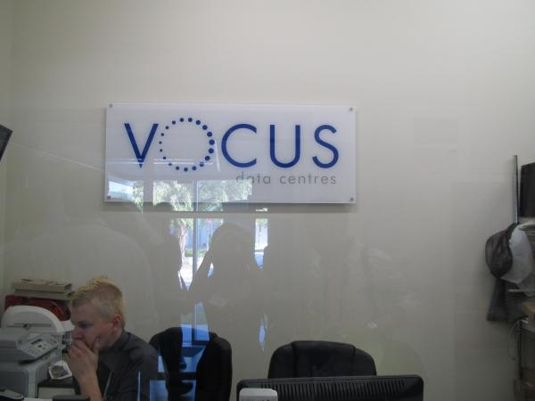 Inside Vocus' new Sydney datacentre.