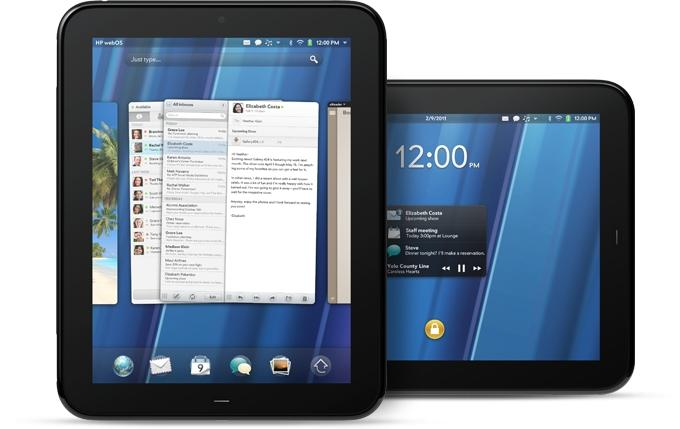 HP's new TouchPad sports webOS, the operating system HP acquired with Palm