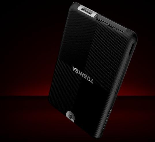Toshiba's new Android 3.0 Honeycomb tablet