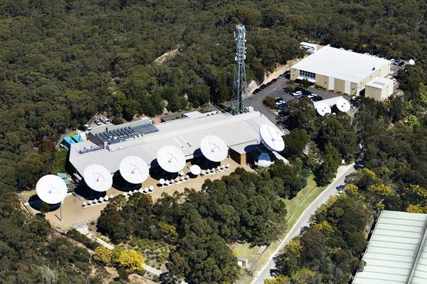 Optus' Belrose satellite facility