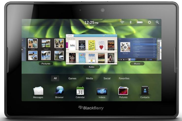 RIM's BlackBerry PlayBook tablet