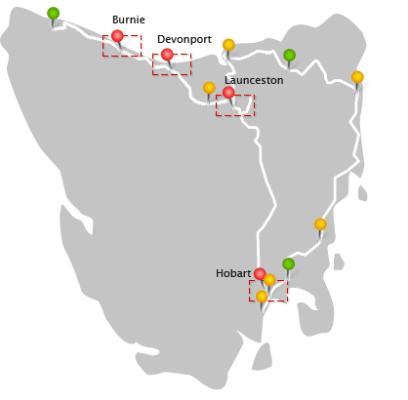 Tasmania NBN rollout.