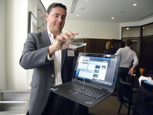 Spill-resistant ThinkPad X1