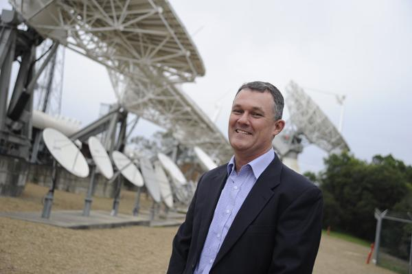 Optus' Paul Sheridan heads up the satellite business.