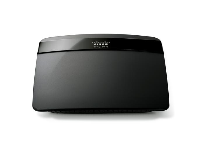 Linksys E1500 Wireless-N Router with SpeedBoost sports a sleek and compact design that makes it stand out