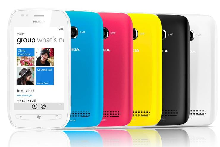 Nokia's Lumia 710