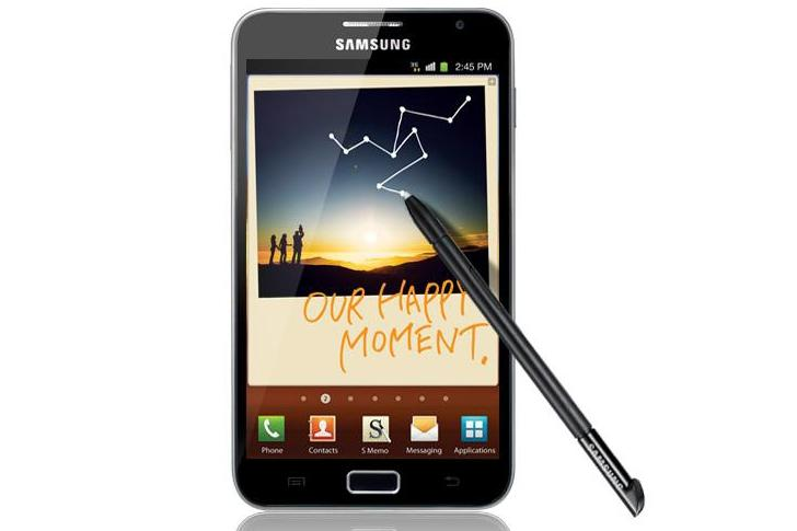 Samsung's Galaxy Note Android phone