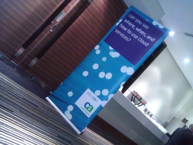 "CA Technologies recently held its ""Realise the Cloud 2011"" forum in Sydney"