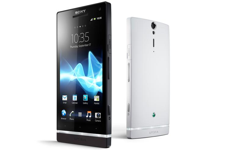 The Sony Xperia S Android phone
