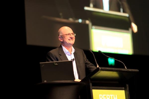 Keynote presentation in Perth