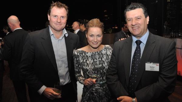 Datacom A/NZ's Todd Gorsuch, Lenovo's Jodi Pearce and Datacom Systems' Walter Rosada