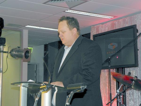Megaport chief executive, Bevan Slattery.