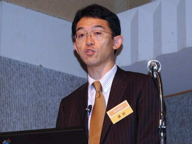 Hitachi IT platform business strategy and planning operation general manager, Akinobu Shimada.