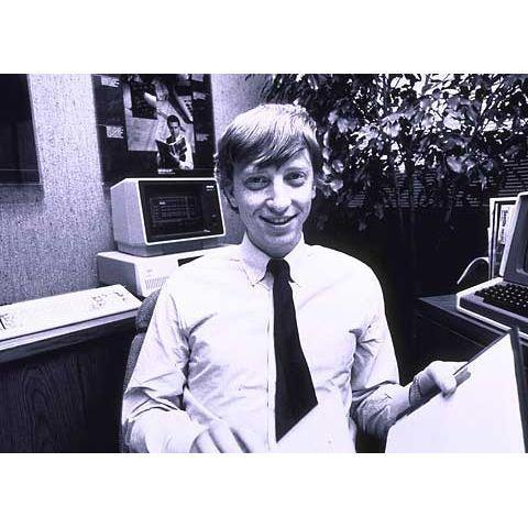 Bill Gates co-founded Microsoft in 1975.