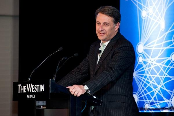 Andrew Stevens - \former IBM Australia and New Zealand managing director