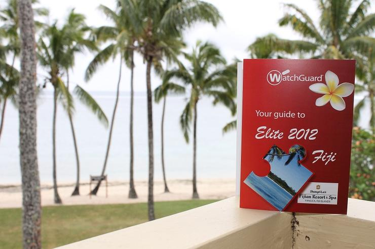 WatchGuard welcomes partners to fun in the sun in Fiji.