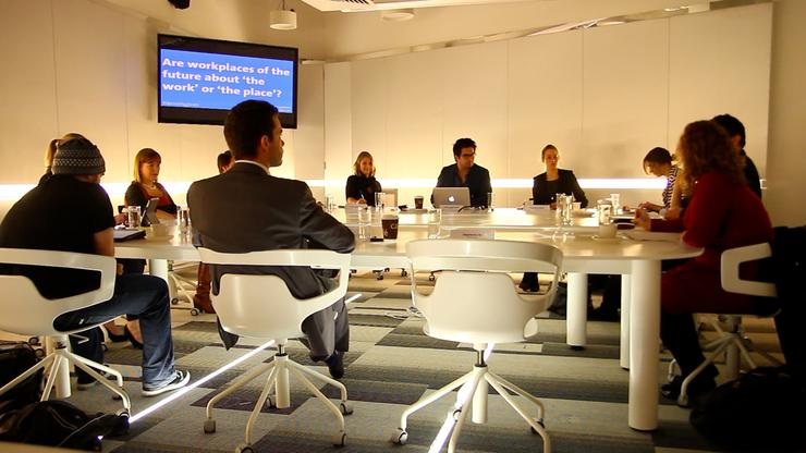 Experts from different segments of the IT industry gathered to speak about the future of workplace