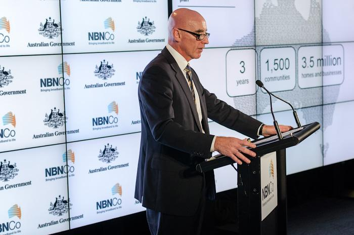 NBN Co's Mike Quigley