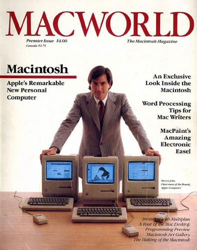 Cover story: Steve Jobs and the first issue of Macworld