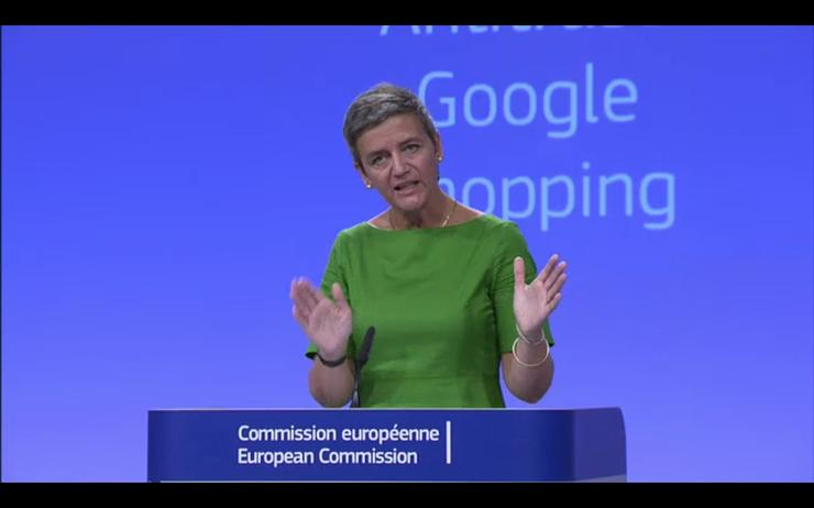 European Union fines Google $2.72 billion, orders changes in search results