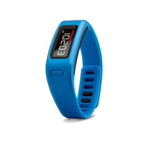 The Garmin vívofit comes in several colors, including blue