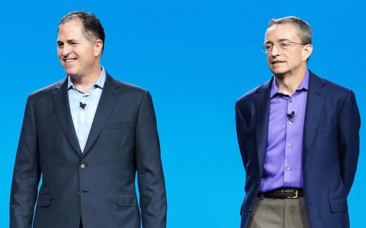 Michael Dell (CEO - Dell Technologies) and Pat Gelsinger (CEO - VMware)