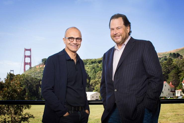 Satya Nadella - CEO, Microsoft and Marc Benioff - CEO, Salesforce