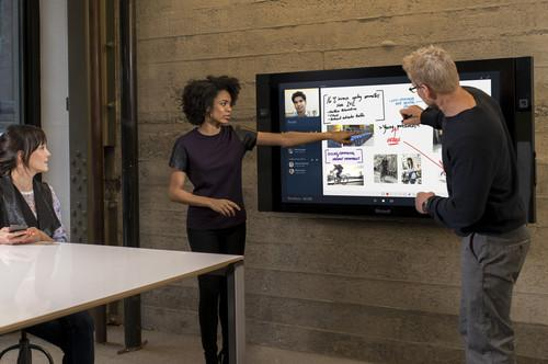 Microsoft Surface Hub could take the place of the projector in many conference rooms