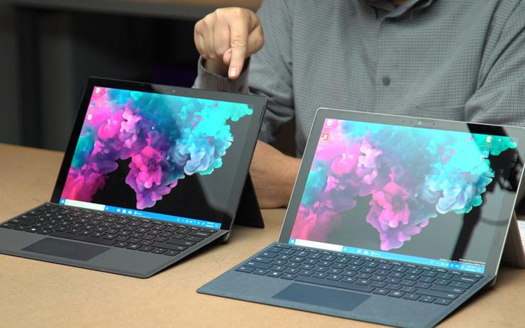 From a design standpoint, the Surface Pro line-up has remained relatively static