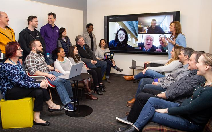Microsoft transitions 180,000 internal employees to Teams