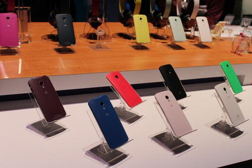 You will be able to customize the back of your new Moto X.