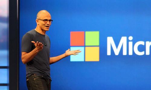 Microsoft chief executive, Satya Nadella.
