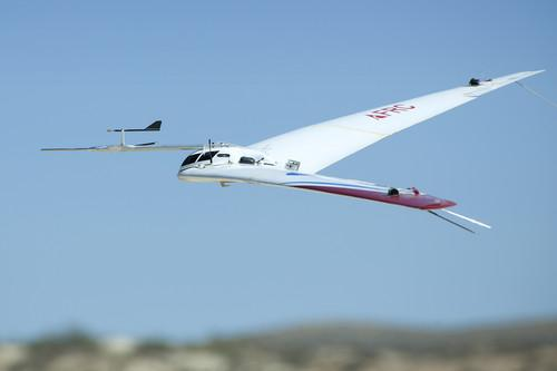 A prototype of the Prandtl-m takes a June test flight. The aerodynamics offer a solution that could lead to the first aircraft on Mars.