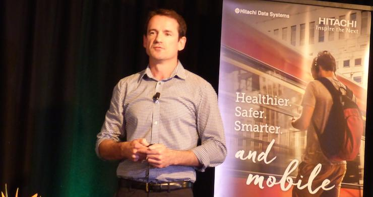 Hitachi Data Systems vice president and general manager A/NZ, Nathan McGregor