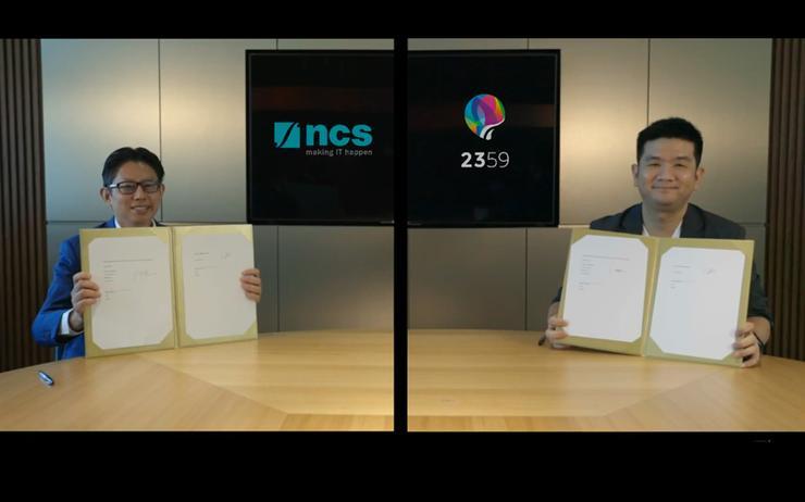 Ng Kuo Pin (NCS) and Wong Hong Ting (2359 Media)