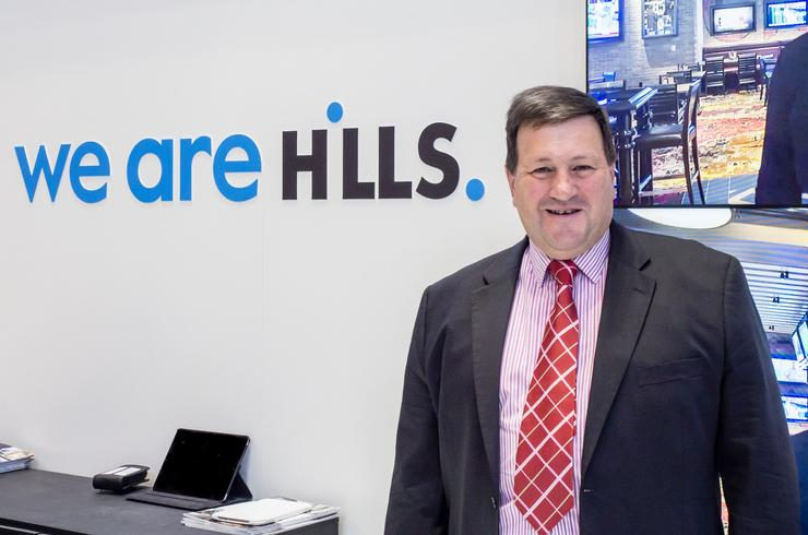 Hills' incomming CEO, David Lenz