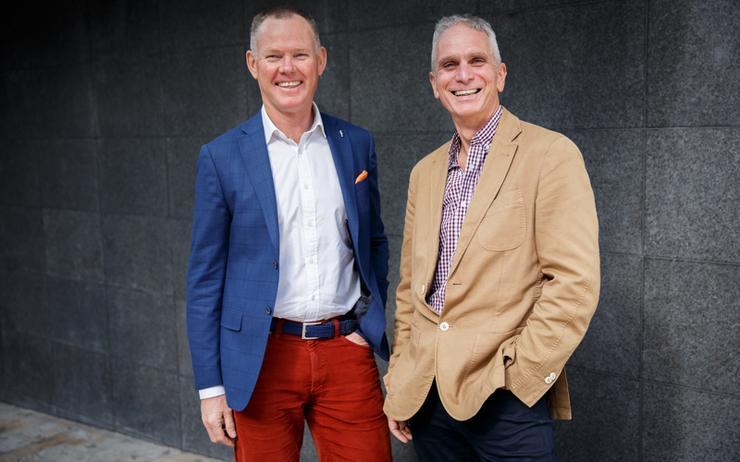 John Walters and Martin Mason