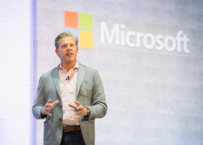 Microsoft consumer and device sales corporate vice president Nick Parker (Source: Microsoft)