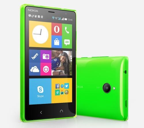The new Nokia X2 smartphone.