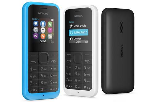 Microsoft's Nokia 105 has more storage for contacts and better audio quality